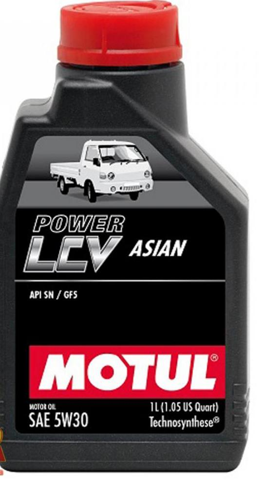 POWER LCV ASIAN 5W-30 1л