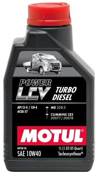 POWER LCV TURBO DIESEL  10W-40 1л