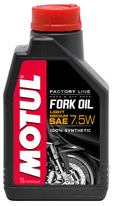 FORK OIL FL LIGHT/MED 7.5W 1л