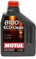 8100 ECO-CLEAN 5W30 100% Synt. 2л