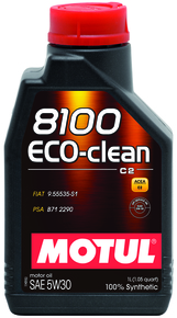 8100 ECO-CLEAN 5W30 100% Synt. 1л